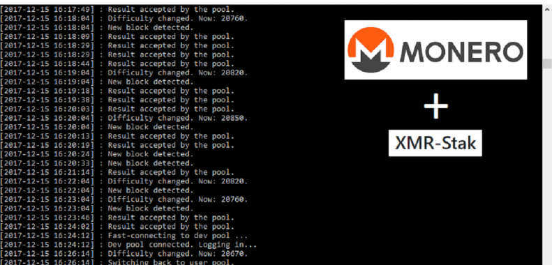 monero hashing command line
