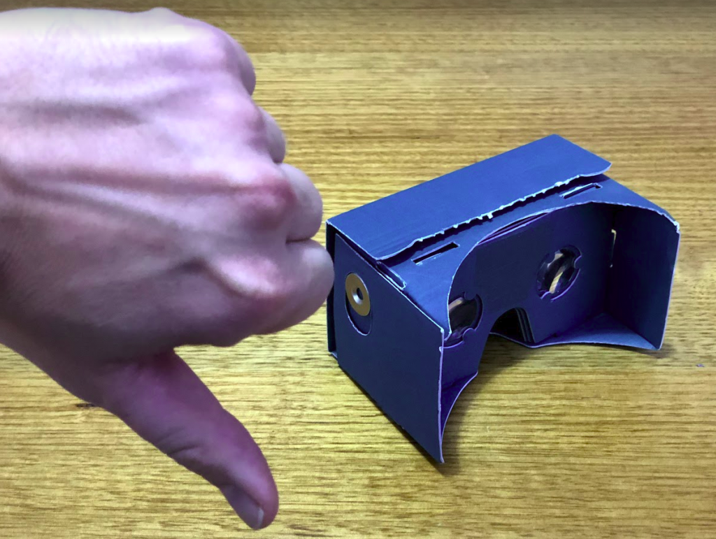 google cardboard vr crap downthumb