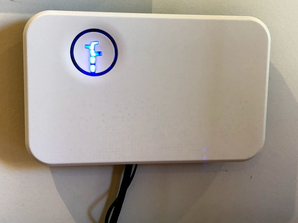 rachio smart sprinkler system wall installation