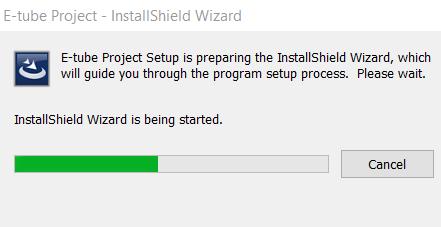 Shimano E-tube project installshield wizard initialisation