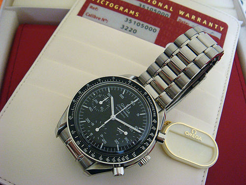 omega speedmaster 3510.50 box and papers